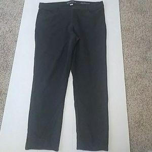 Stetch type drk gray pants